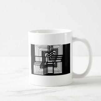 unbox me classic white coffee mug