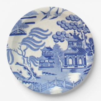 Unbreakable Blue Willow Plates 9 Inches Kid Safe!