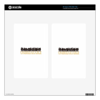 Unbreakable Decals For Kindle Fire