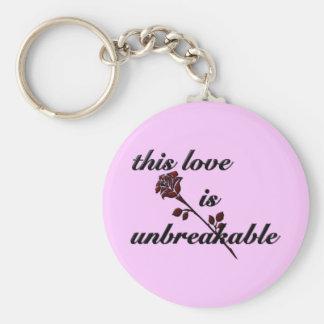 Unbreakable - keychain