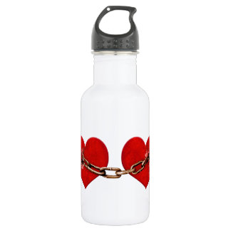 Unbreakable Love Concept Stainless Steel Water Bottle