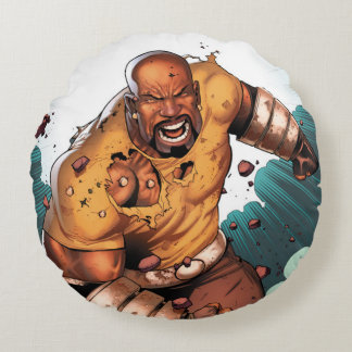 Unbreakable Luke Cage Round Pillow