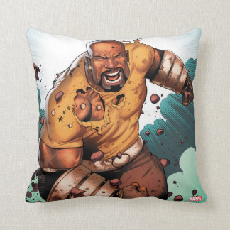 Unbreakable Luke Cage Throw Pillow