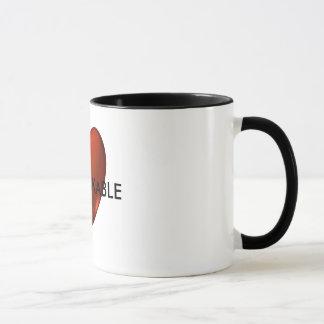 UNBREKABLE Defiant Heart Logo Coffee Mug