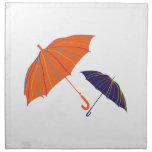 Unbrellas rayado servilleta imprimida