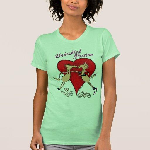 Unbridled Passion Ladies Petite T-Shirt