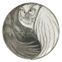 Unbroken Circle Melamine Plate