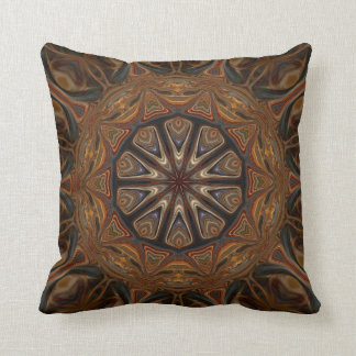 Unbroken Circle. Throw Pillow