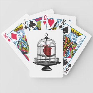 Uncage My Heart Bicycle Playing Cards