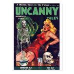 Uncanny Tales 4 Postcards