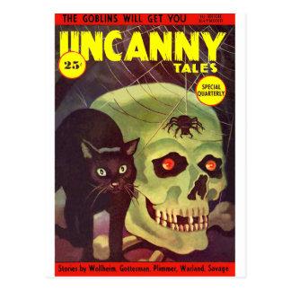 Uncanny Tales 5 Postcard