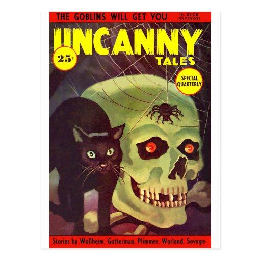 Uncanny Tales 5 Post Card