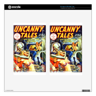 Uncanny Tales Decal For Kindle Fire