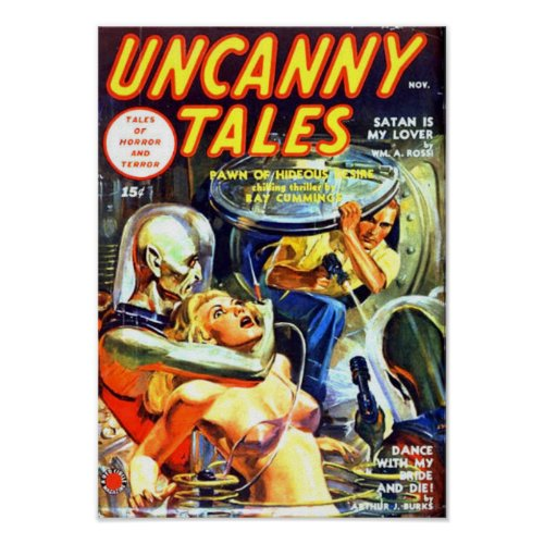 Uncanny Tales -- Satan is my Lover