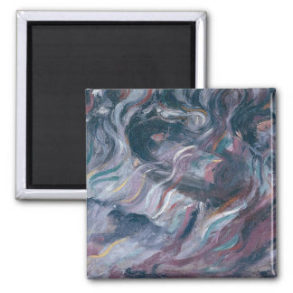Uncertainties I. The Farewells (triptych) 1911 (oi 2 Inch Square Magnet