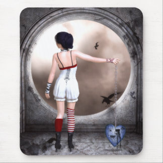 Unchain My Heart Gothic Art Mouse Pad