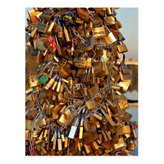 unchain my love post card