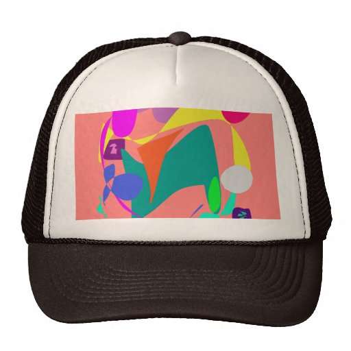 Unchained Coral Trucker Hat