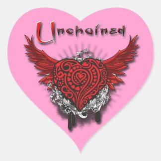 Unchained Heart Heart Sticker
