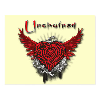 Unchained Heart Post Cards