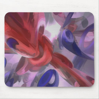 Unchained Pastel Abstract Mouse Pad