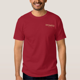 Uncharted T-shirt with URL - Maroon