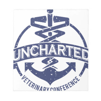 Uncharted Veterinary Conference Notepad