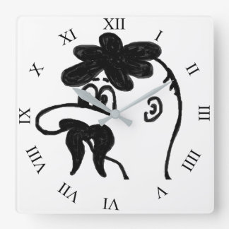 Uncle 1 square wall clock