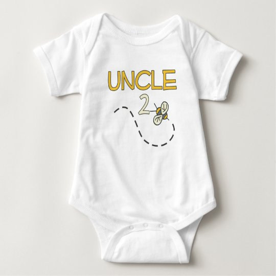 Uncle 2 Bee Baby Bodysuit