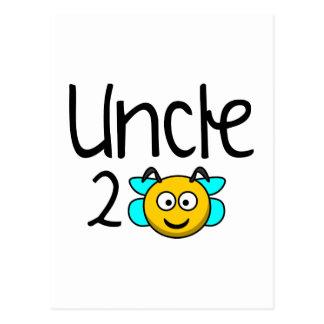 Uncle 2 Bee Postcard