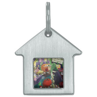 Uncle Banana come back home Pet ID Tags