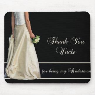 Uncle Bridesman thank you Mouse Pad