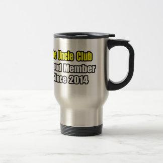 Uncle Club .. Proud Member Since 2014 15 Oz Stainless Steel Travel Mug