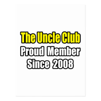 Uncle Club...Since 2008 Postcard