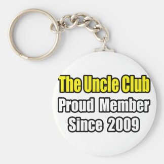 Uncle Club...Since 2009 Keychain
