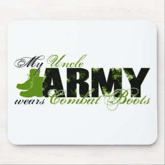 Uncle Combat Boots - ARMY Mouse Pad