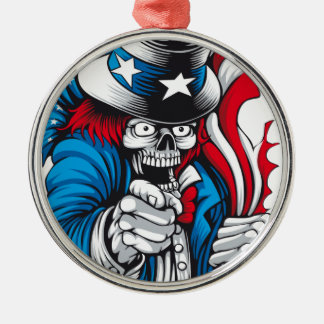 Uncle Dead wants You Christmas Ornament