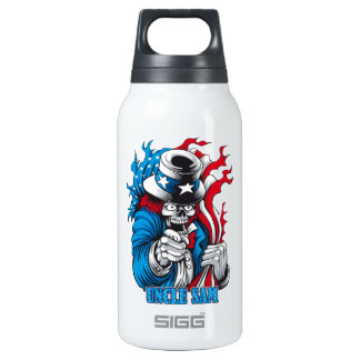 Uncle Dead wants You 10 Oz Insulated SIGG Thermos Water Bottle