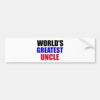 uncle design bumper sticker