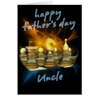 Uncle - Father's Day Card - Chess
