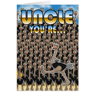 Uncle Father's Day Card - You Are One In a Million