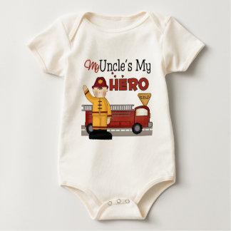 Uncle Firefighter Children's Gift Baby Bodysuit