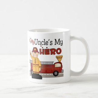 Uncle Firefighter Children's Gift Coffee Mug