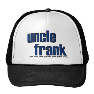 uncle frank will make your head cool trucker hat