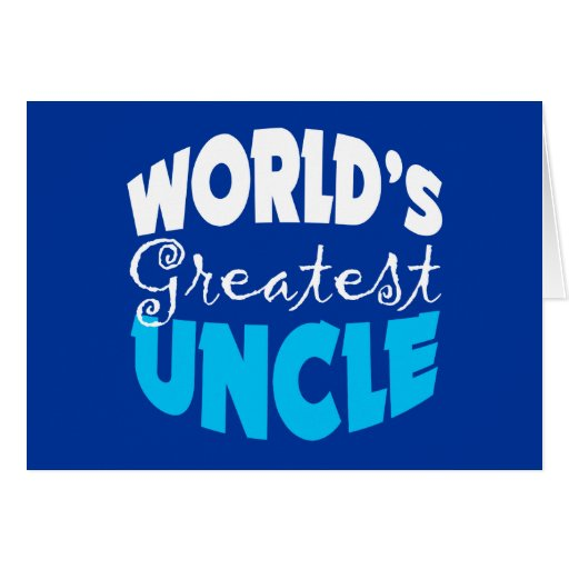 Uncle Gift Greeting Card