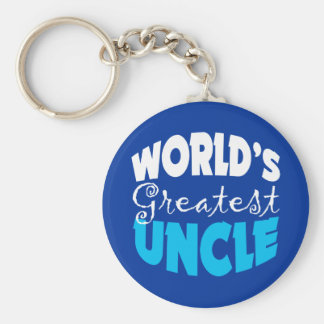 Uncle Gift Keychain