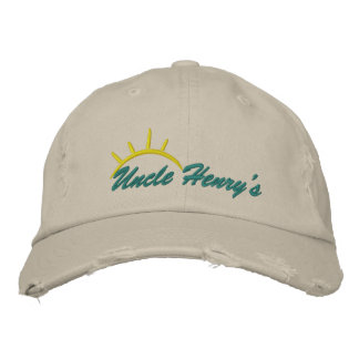 Uncle Henry's Embriodered Hat
