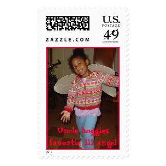 uncle hoggies favorite lil angel postage stamps