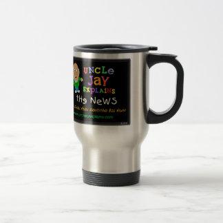 Uncle Jay Explains - Travel Mug