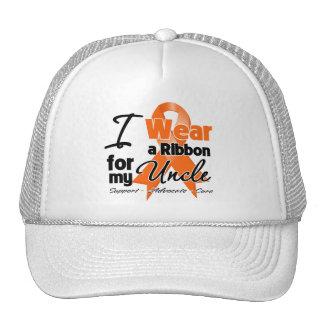 Uncle - Leukemia Ribbon Trucker Hats